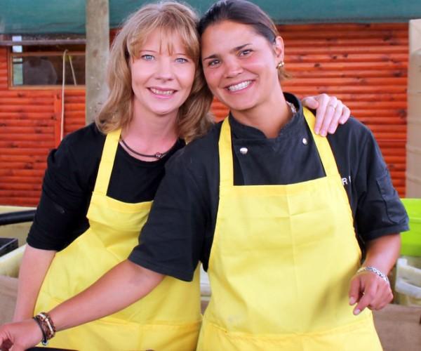 Meet your hosts Natalie and Natasha